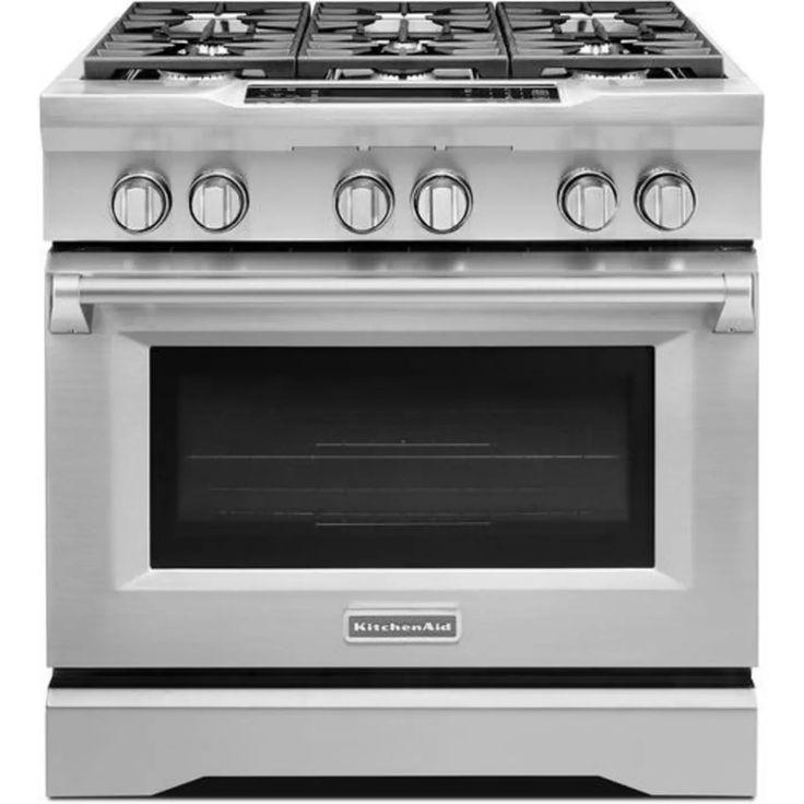 Kdrs467vss by kitchenaid dual fuel natural gas ranges