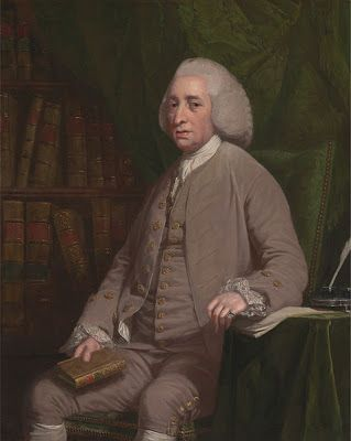 "Tobias Smollett [""Humphrey Clinker"" etc.] by Nathaniel Dance-Holland, 1764"