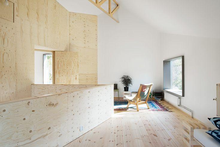 Peterséns Road 40, Skärholmen-Johannesdal, Stockholm | Fantastic Frank // unique plywood home