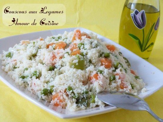 Couscous aux légumes / amekfoul, cuisine algerienne - Amour de cuisine