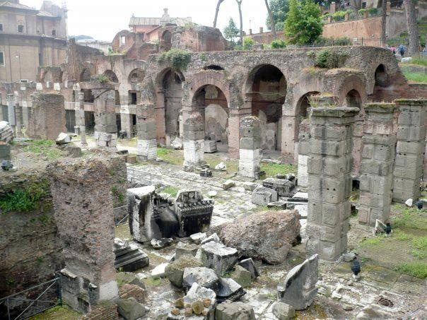 A town basilica in Rome, Italy. It's believed that the Apostle Paul was imprisoned here.