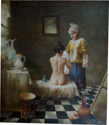 Утренний туалет - Rimaszewski Siergiej