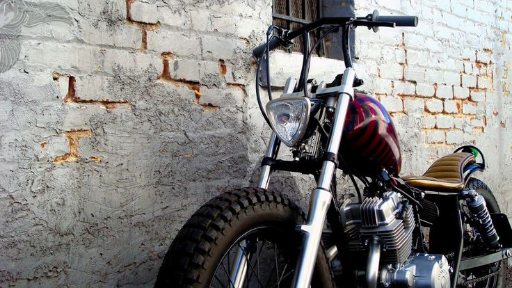 honda rebel brat bobber - front | machine-13
