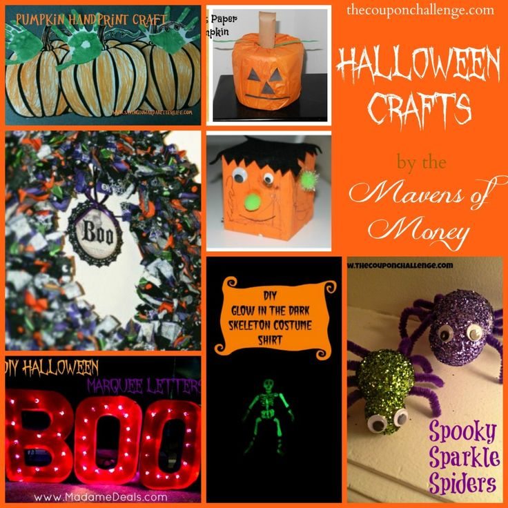 7 Easy Halloween Crafts to decorate your home for Fall: Easy Halloween Crafts, Halloween Parties, Crafts Ideas, Halloween Costumes, Crafts Roundup, Fun Halloween Crafts, Costumes Halloween, Holidays Ideas, Halloween Ideas