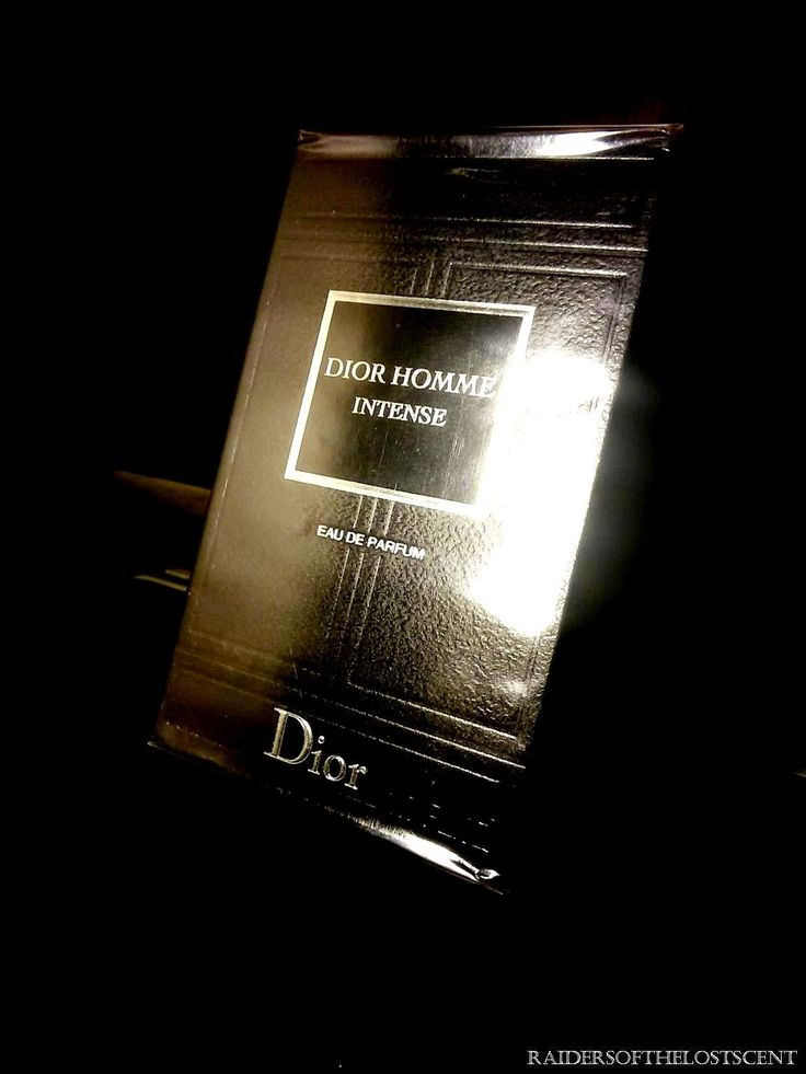 Raiders of the Lost Scent: DIOR Homme, Homme Intense, and Homme Parfum: Blind...