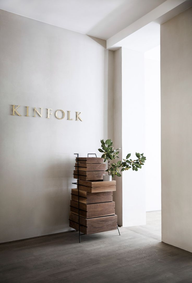 Norm Architects creates workspace for Kinfolk magazine in Copenhagen