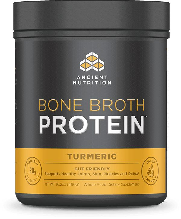 Bone Broth Protein Powder: Turmeric | Dr. Axe