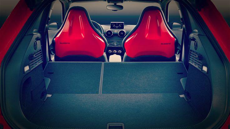 2015 Audi S1 trunk 2015 Audi S1 Sporty