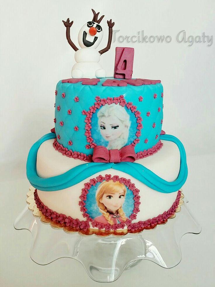 #Frozen#princess#cake
