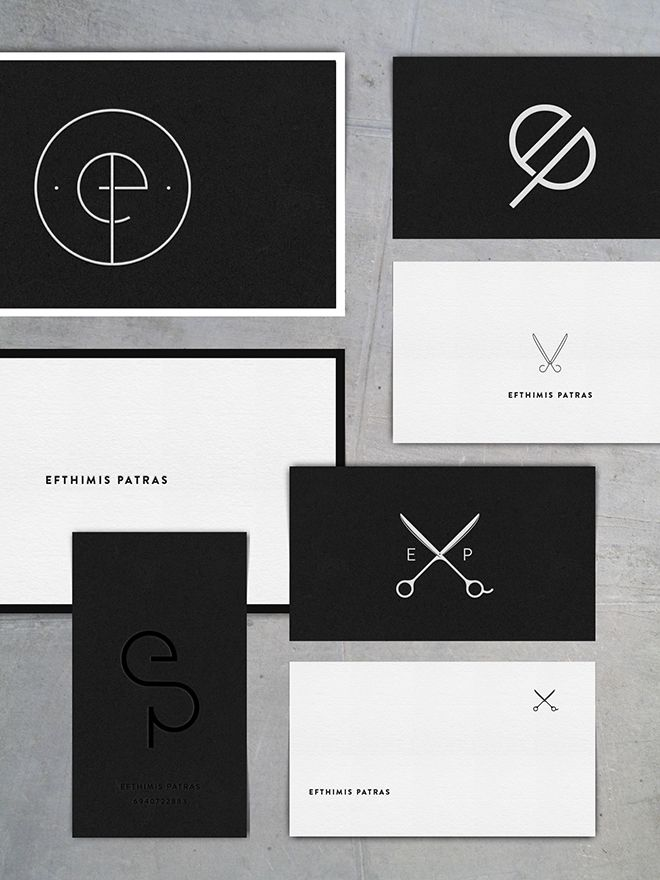 ep logo business cards by cocorrina