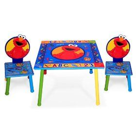 Elmo chair set with square table