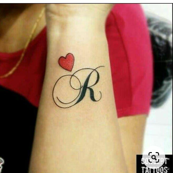 Hand Riya Name Tattoo Designs