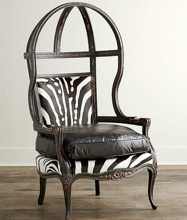 Hardwood Frame Canopy Chair
