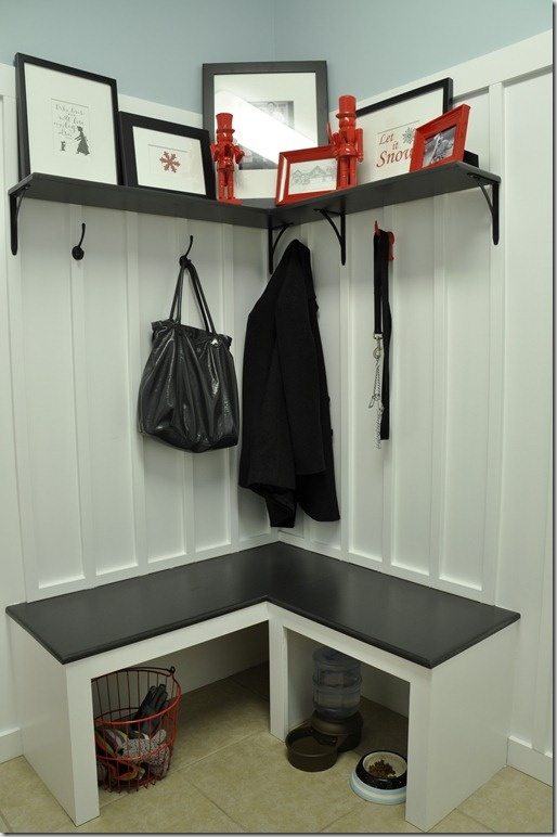 95 best entryway images on pinterest home ideas homes for Basement mudroom ideas