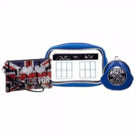 Doctor Who Tardis Jrs. Make Up Case With Wristlet Gift Set Product Features Brand New Doctor Who Tardis Jrs. Make Up Case With Wristlet Gift Set 8 3/4 IN x 5 1/2 in Neoprene Make Up Case with PVC Window 7 IN x 4 1/2 IN PU Zippered Wristlet 5 in x 4.5 in PU […]