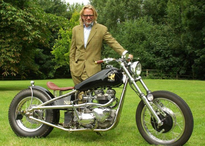 Henry Cole, Bobber, Gladstone Bobber, Triumph Motorcycles, Triumph Bobber