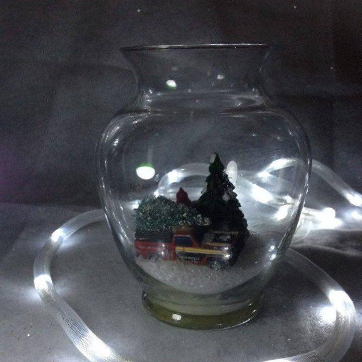 """Miniature Scene in 8"""" Globe by Toodalous on Etsy"""