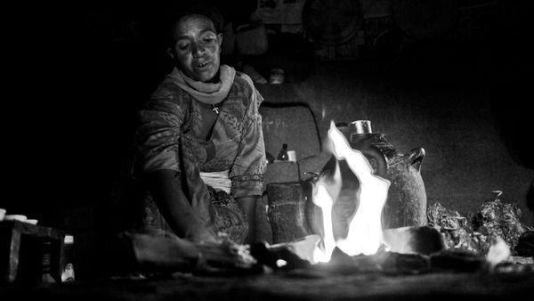 Eine Küche in Äthiopien