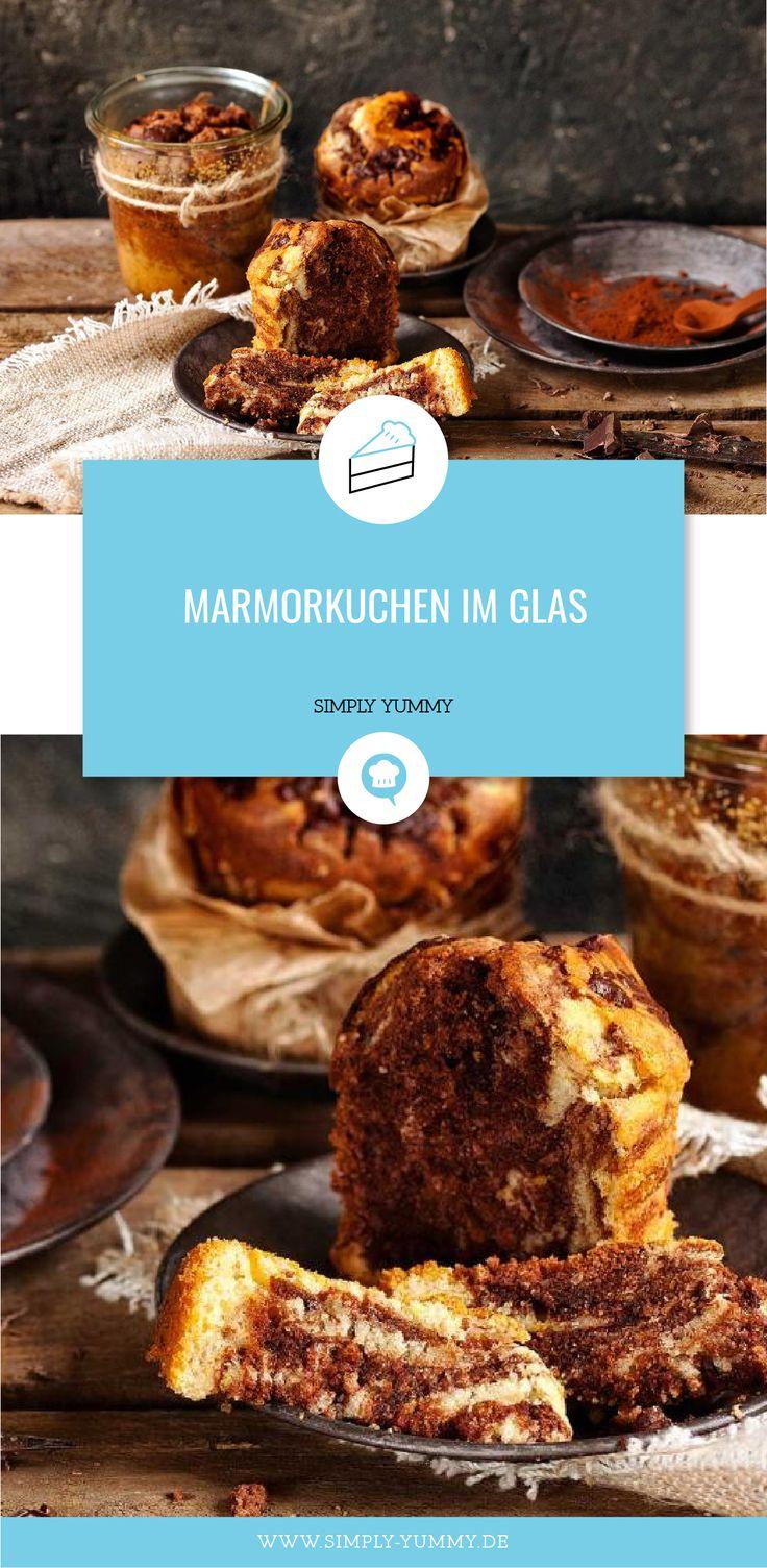 Marmorkuchen im Glas #Marschkuchen #in #glas #glaskuchen #in #a    – Alle Rezepte von SIMPLY YUMMY