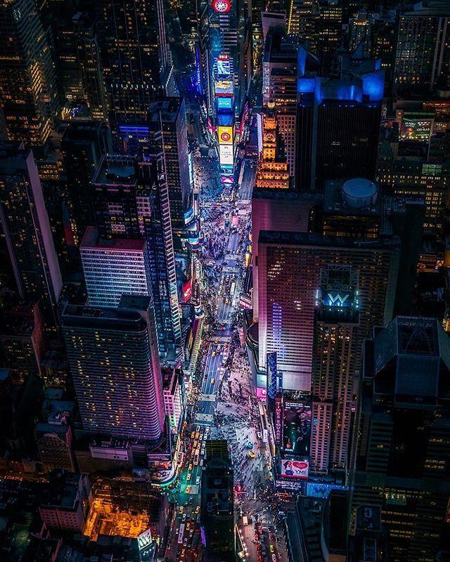 Times Square At Night Timessquare Nyc Ny Newyork Newyorkcity Mynyc Nycity Nygram Nycgram Nycdotgram Birds Eye View City Times Square Machine Photo
