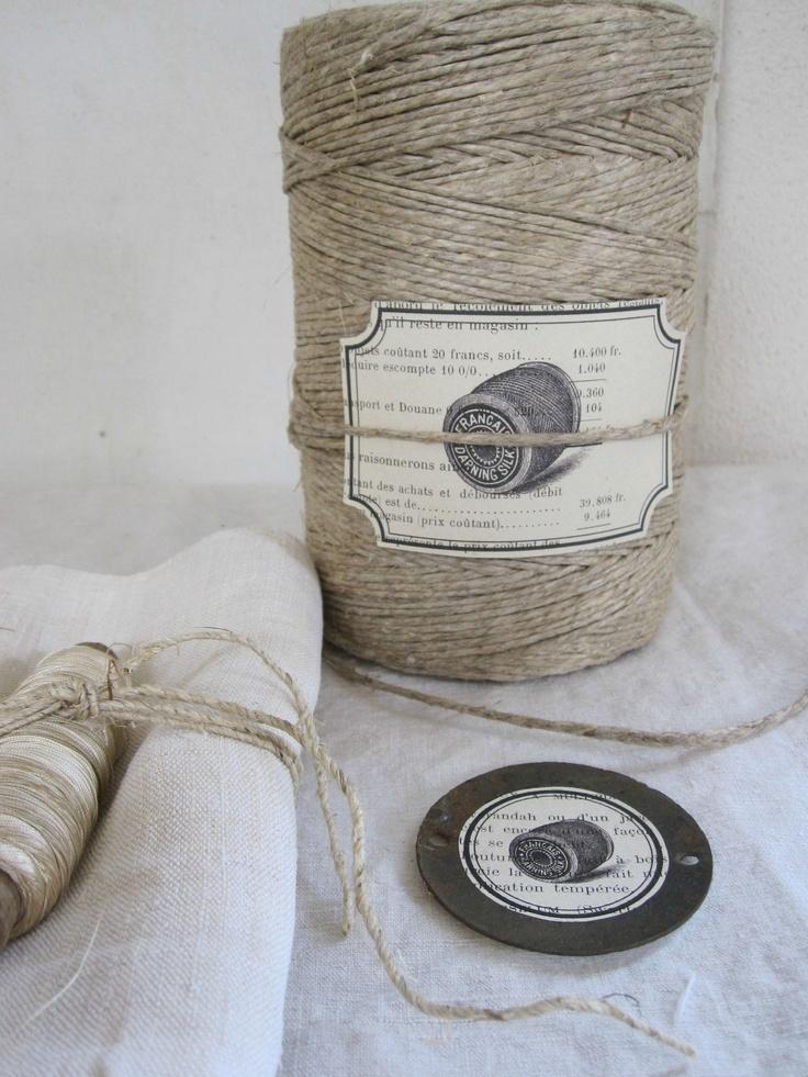 grosse bobine de chanvre ancien bout de ficelle pinterest bobine chanvre et ancien. Black Bedroom Furniture Sets. Home Design Ideas