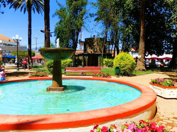 Plaza de San Vicente de Tagua Tagua, VI región Chile
