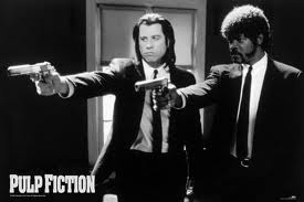 Pulp Fiction is now one of my favorite movies. Everyone HAS to watch it!