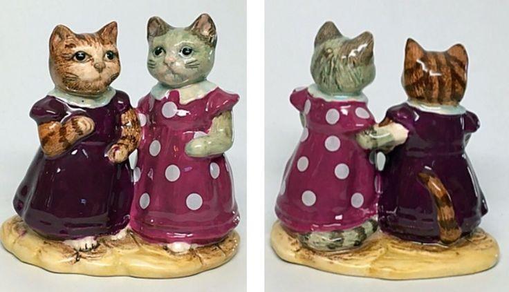 "Polka Dot Dress - Royal Albert Beatrix Potter Figurine ""Mittens and Moppet""  | eBay"