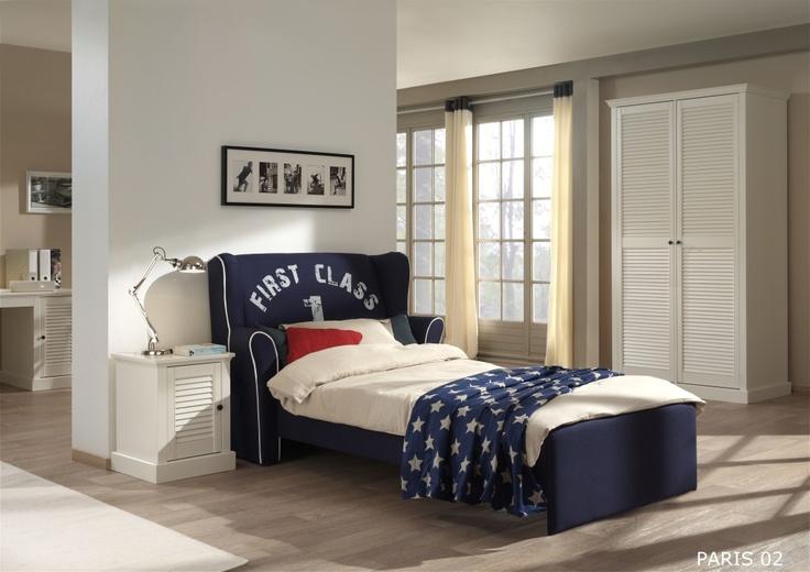 Lit fauteuil Paris #bed  http://www.walterbed.com/Lit-fauteuil-Paris-WALTERBED---Existe-en-Bleu-marine-ou-Beige-0,,1637,0.html