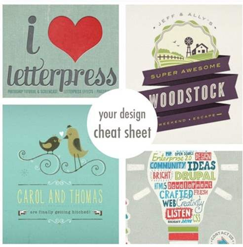 10 Cheat Sheets for Graphic Designers: Hottest Trends by Nellie Windmill