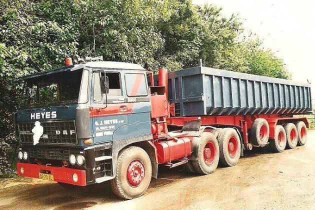 DAF 3300 6x4 Transportbedrijf Heyes & zn. uit Oude Pekela/Groningen
