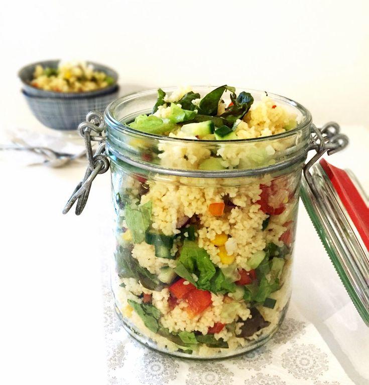 Kunterbunter Couscous-Salat - Powered by @ultimaterecipe