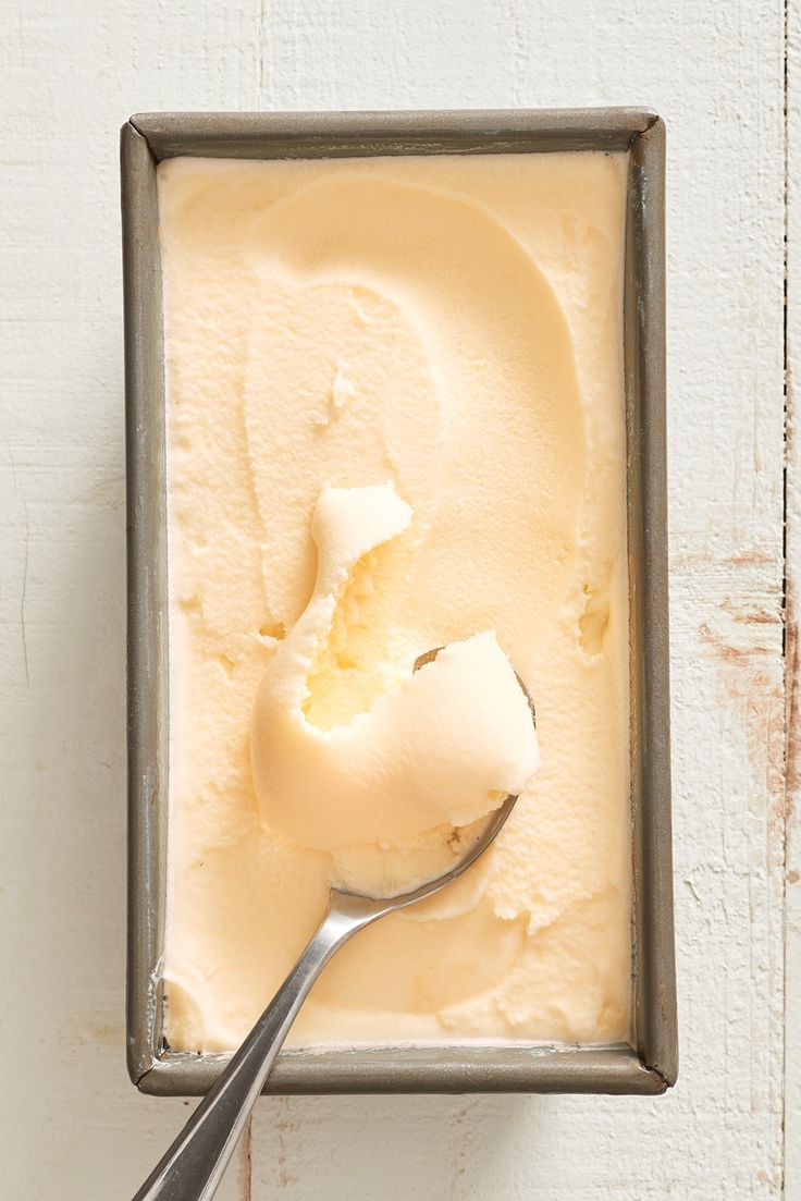 How To Make Classic Orange Sherbet — Ice Cream Lessons from The Kitchn #recipes #food #kitchen