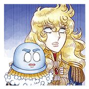 Bubble-kun × The Rose of Versailles - http://www.line-stickers.com/bubble-kun-x-the-rose-of-versailles/
