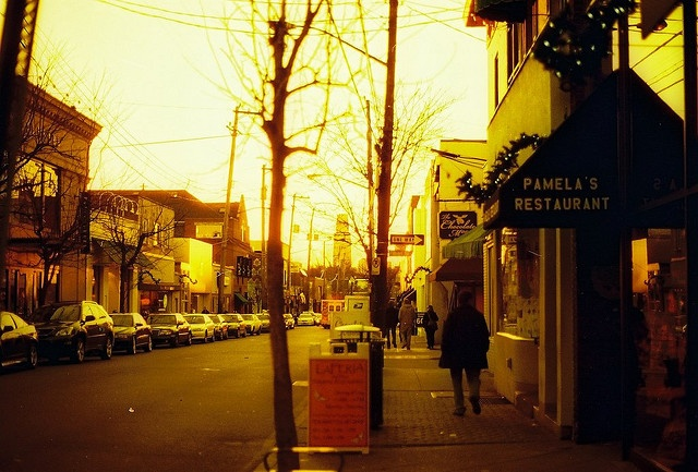 Shadyside (Pittsburgh), PA Where we shopped when in college.