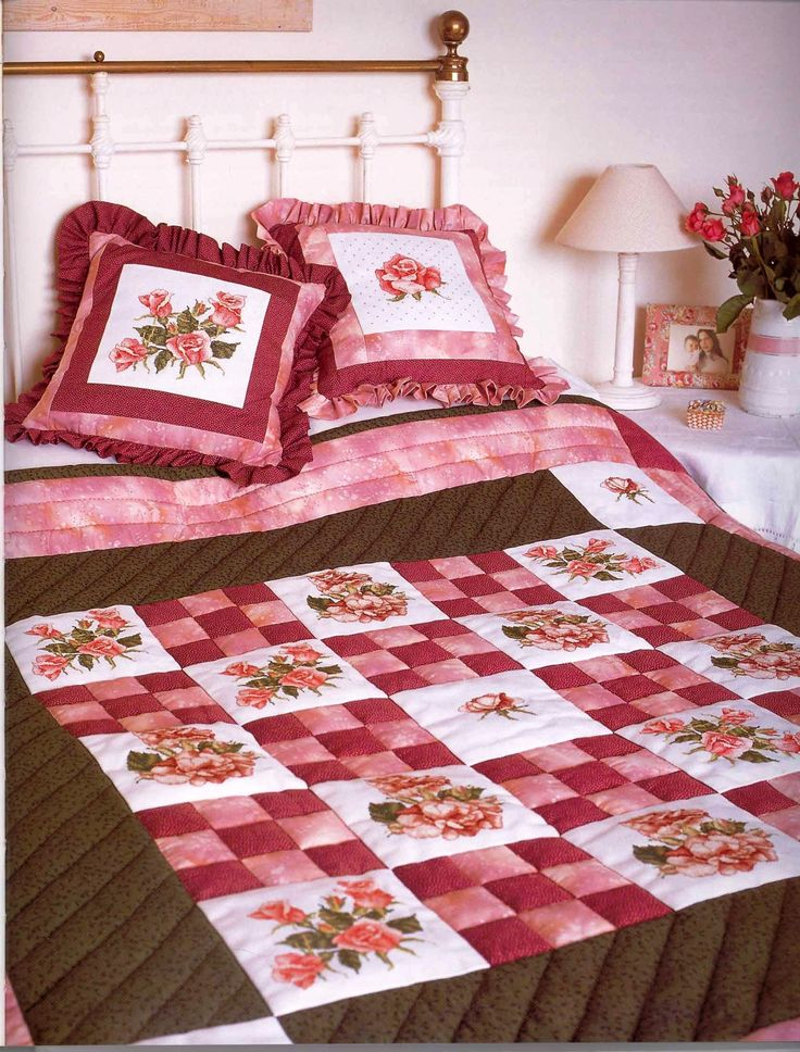 Cross stitch Flowers - Вышитые цветы (Вышивание крестиком)