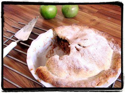 Z ghetta blog: Americký jablečný koláč (Apple pie)