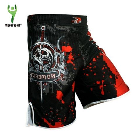MMA Shorts - Skull Print (2 colours)