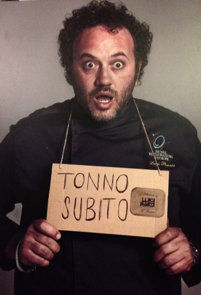 A TUTTO TONNO dello CHEF LUIGI POMATA – MERCOLEDI 7 MAGGIO 2014