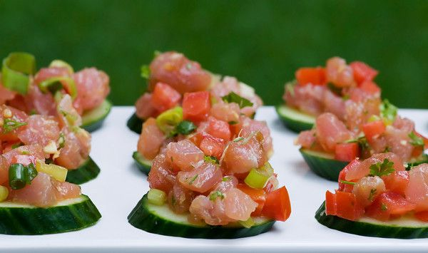 Tuna Tartare. I would eat this every day if i could. Scrump-diddly-umptious.