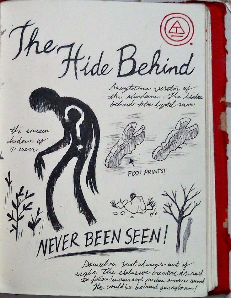 Gravity Falls Journal 3 Replica - The Hide Behind by leoflynn.deviantart.com on @deviantART