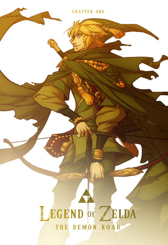 The Legend Of Zelda: The Demon Road   Comics - CH1 Cover ( click on the pic to go to the comic