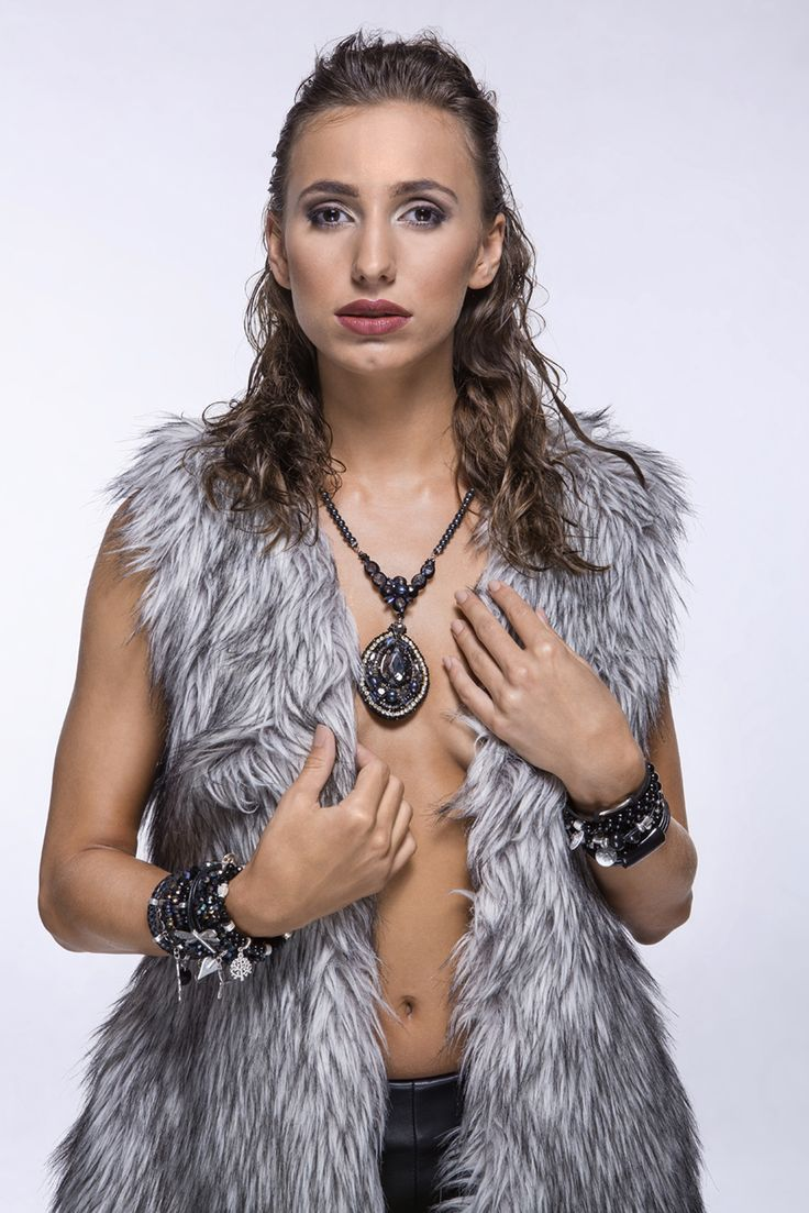 Kolekcja Fall/Winter 2014/2015 #bydziubeka #winter #jewelry #collection #autumn #session #model