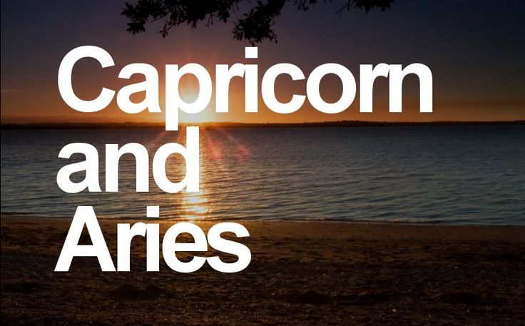 aries and capricorn relationship 2016 holidays