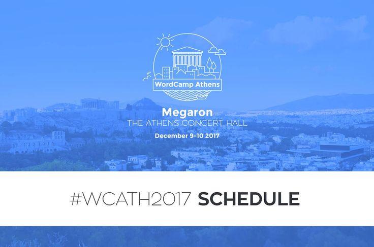 WordCamp Athens 2017: Το πλήρες πρόγραμμα ομιλιών