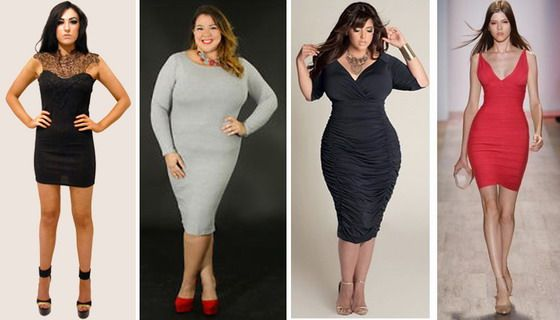 DRESSING MISTAKES: Don't wear a stretch tube dress if your body is boyish, or you have breeches limbs, tummy, or large hips. This dress if for only the perfect body shape, because exposes everything...