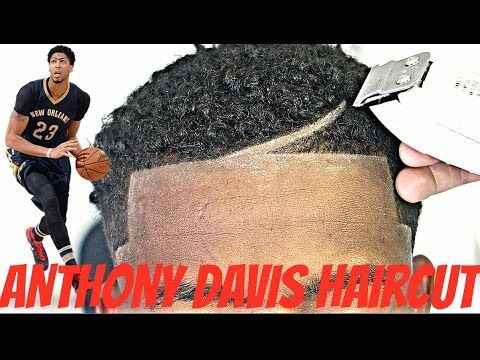 BARBER TUTORIAL : ANTHONY DAVIS HAIRCUT HD ! - YouTube