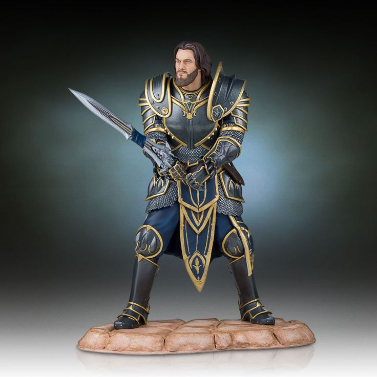 Lothar Statue by Gentle Giant - Warcraft The Beginning - Release Date: 11/2016
