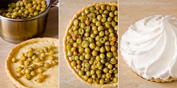 Еда в литературе - Пирог с крыжовником, меренгой и заварным кремом (Шарлотта Бронте. «Джен Эйр»)