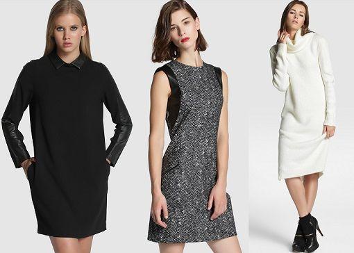 Los nuevos vestidos Tintoretto del otoño invierno 2014 2015: casual y de fiesta - destinomoda